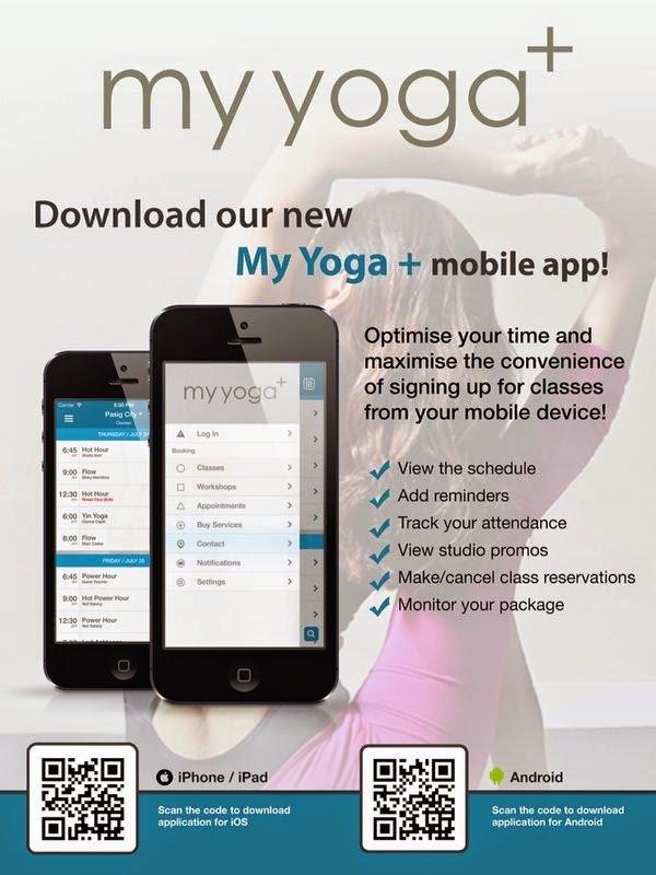 my yoga+ app